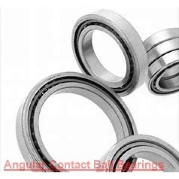 30 mm x 72 mm x 19 mm  ZEN 7306B-2RS angular contact ball bearings
