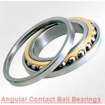 40 mm x 110 mm x 27 mm  ISO 7408 B angular contact ball bearings