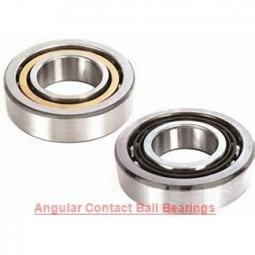19,05 mm x 50,8 mm x 17,5 mm  FAG MS8AC angular contact ball bearings