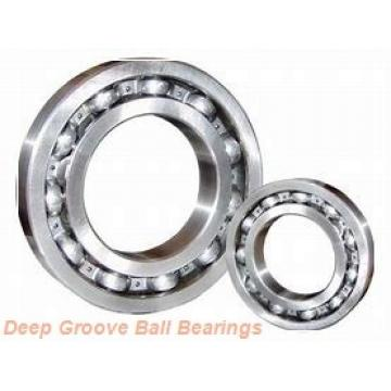 40 mm x 62 mm x 24 mm  Fersa F16190 deep groove ball bearings