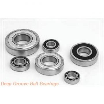 20 mm x 52 mm x 21 mm  Fersa 62304 deep groove ball bearings