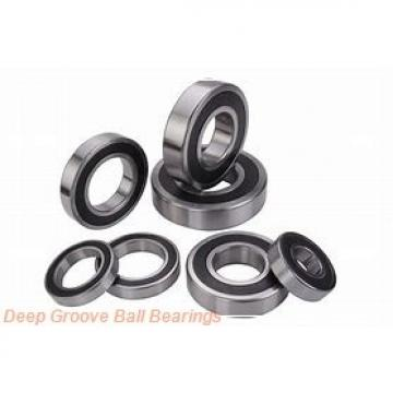 35 mm x 80 mm x 21 mm  NACHI 6307-2NSE deep groove ball bearings