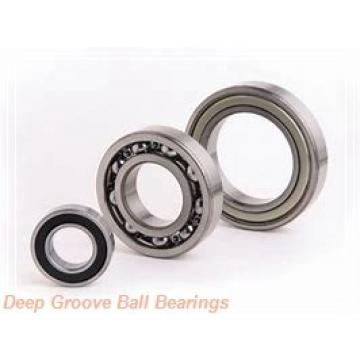 17 mm x 40 mm x 12 mm  NTN 6203NR deep groove ball bearings