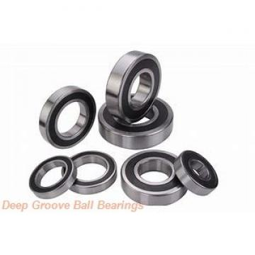10 mm x 22 mm x 6 mm  NMB RNR-2210X9KK deep groove ball bearings
