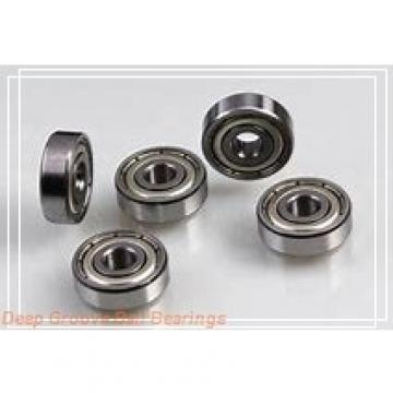 85 mm x 130 mm x 22 mm  NKE 6017-Z-N deep groove ball bearings