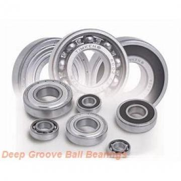 6,35 mm x 9,525 mm x 3,175 mm  FBJ FR168ZZ deep groove ball bearings